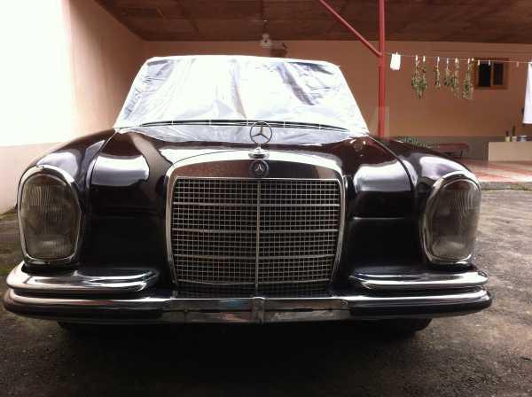 Mercedes-Benz S-Class, 1968 год, 650 000 руб.