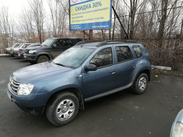 Renault Duster, 2014 год, 625 000 руб.