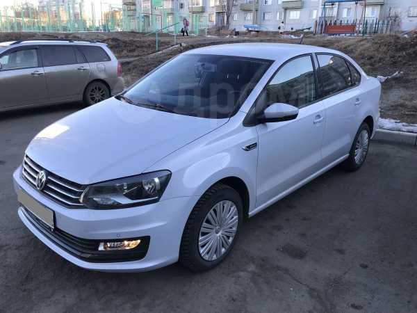 Volkswagen Polo, 2018 год, 740 000 руб.