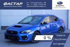 Новосибирск Impreza WRX 2019