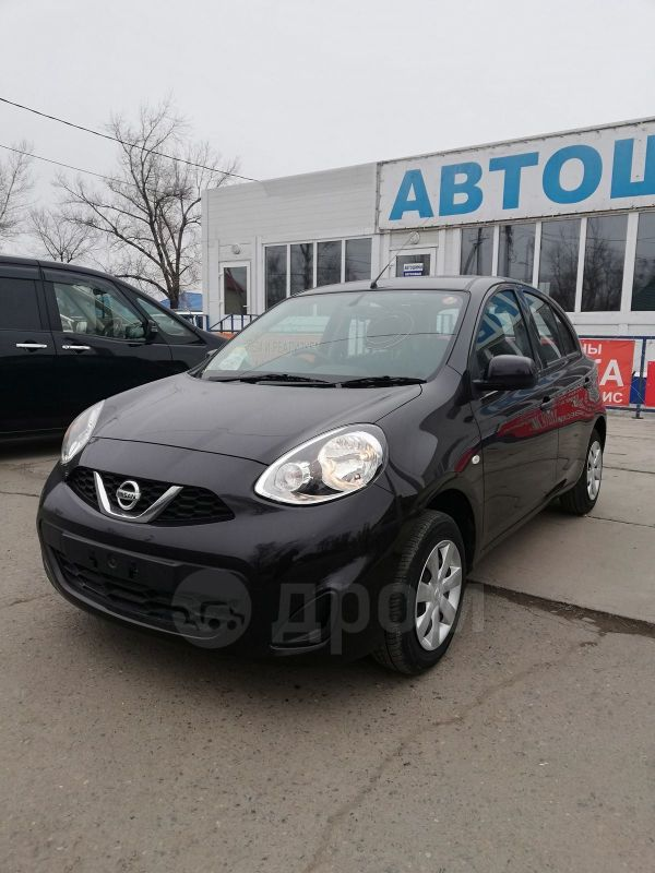 Nissan March, 2015 год, 490 000 руб.