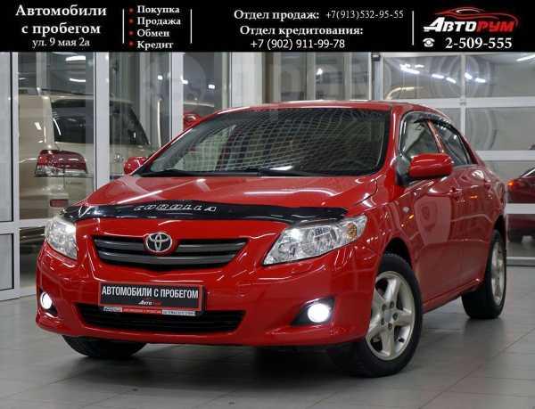 Toyota Corolla, 2008 год, 507 000 руб.