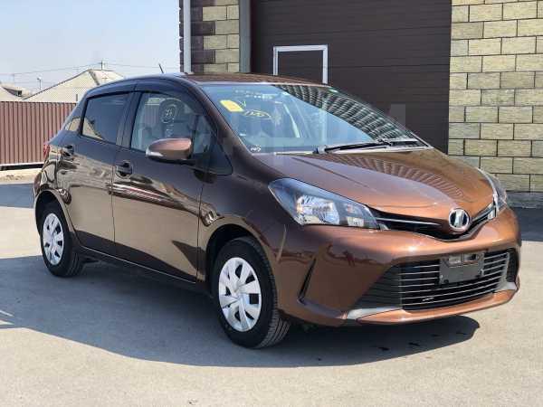 Toyota Vitz, 2015 год, 565 000 руб.
