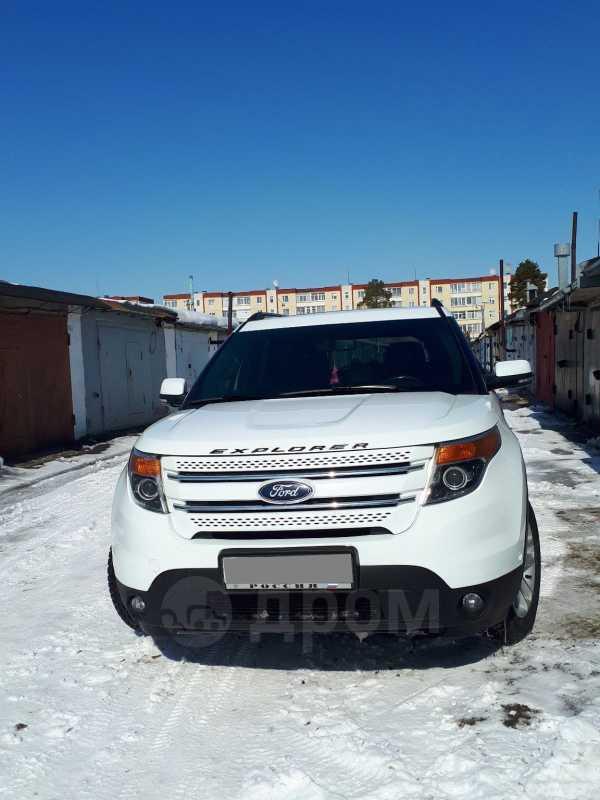 Ford Explorer, 2013 год, 1 390 000 руб.