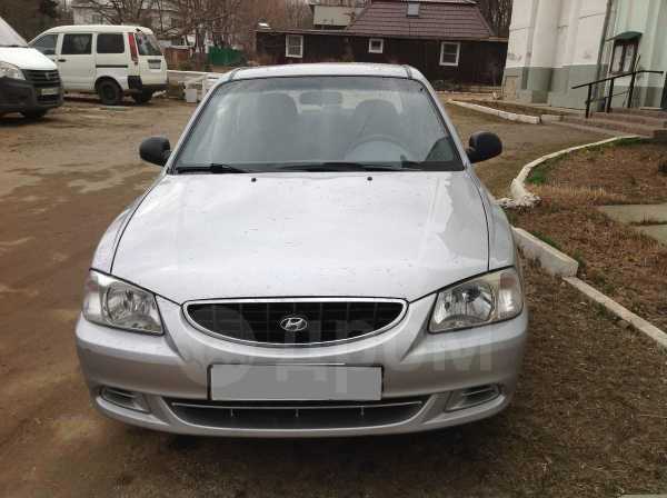 Hyundai Accent, 2004 год, 193 000 руб.