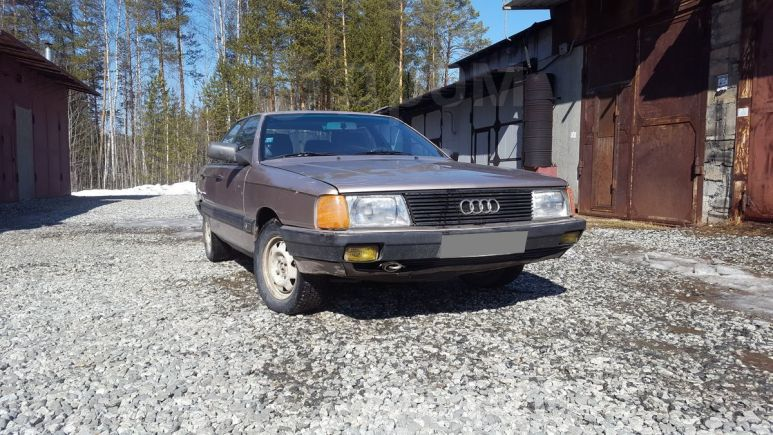 Audi 100, 1987 год, 30 000 руб.