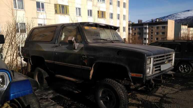 Chevrolet Blazer, 1987 год, 330 000 руб.