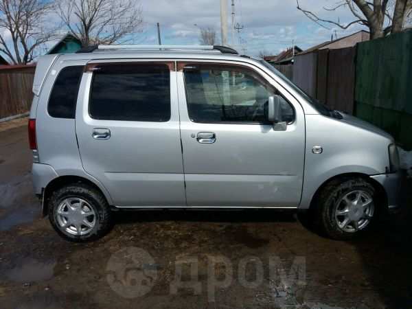 Mazda AZ-Wagon, 2001 год, 170 000 руб.