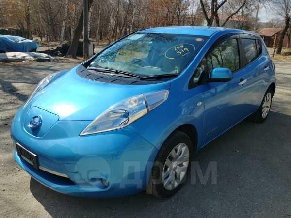 Nissan Leaf, 2013 год, 557 000 руб.