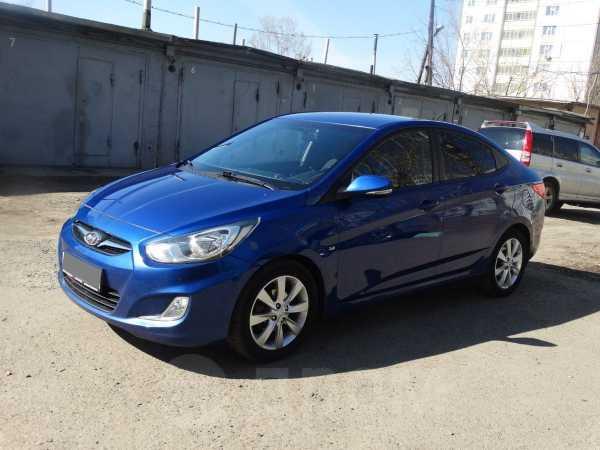 Hyundai Solaris, 2011 год, 540 000 руб.