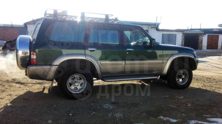 Nissan Safari, 2001 год, 790 000 руб.