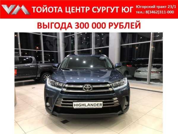 Toyota Highlander, 2018 год, 3 349 000 руб.