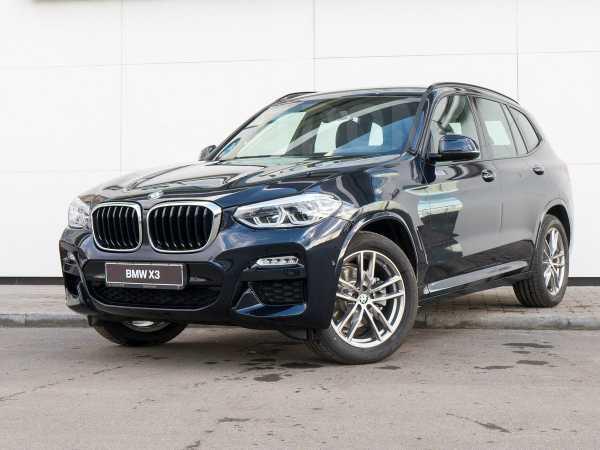 BMW X3, 2019 год, 3 590 000 руб.