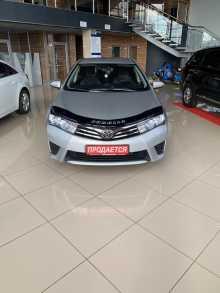 Нягань Corolla FX 2014