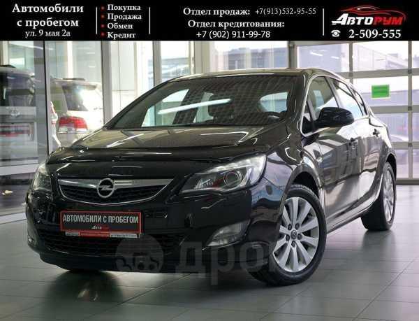 Opel Astra, 2012 год, 597 000 руб.