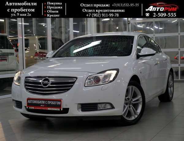 Opel Insignia, 2013 год, 767 000 руб.