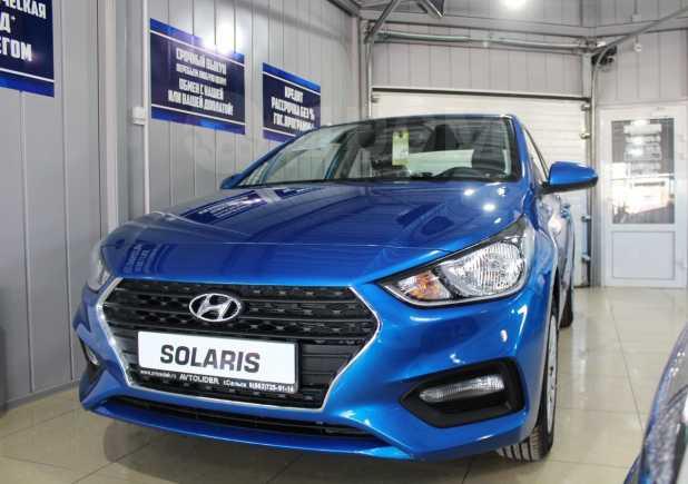 Hyundai Solaris, 2018 год, 829 900 руб.