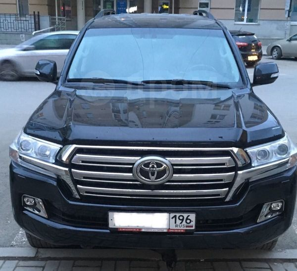Toyota Land Cruiser, 2018 год, 4 450 000 руб.