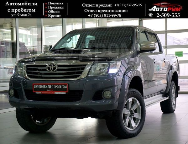 Toyota Hilux Pick Up, 2012 год, 1 157 000 руб.