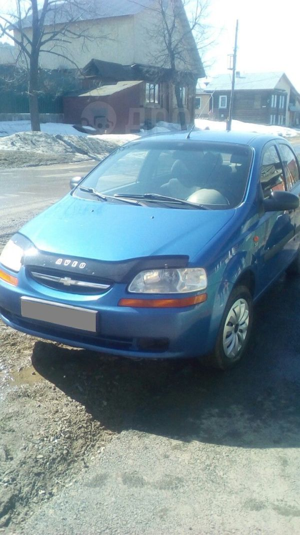Chevrolet Aveo, 2004 год, 169 000 руб.