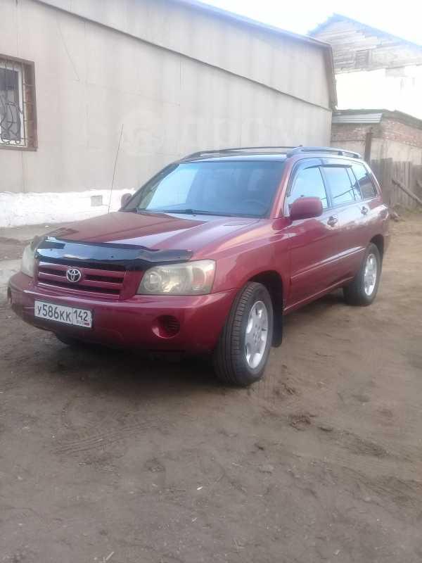 Toyota Highlander, 2003 год, 610 000 руб.