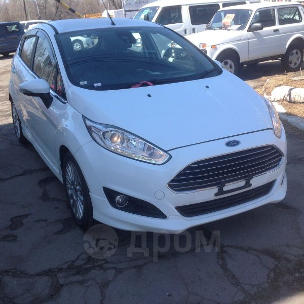 Ford Fiesta, 2015 год, 550 000 руб.
