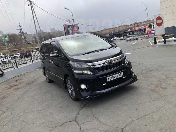 Toyota Vellfire, 2013 год, 1 849 000 руб.