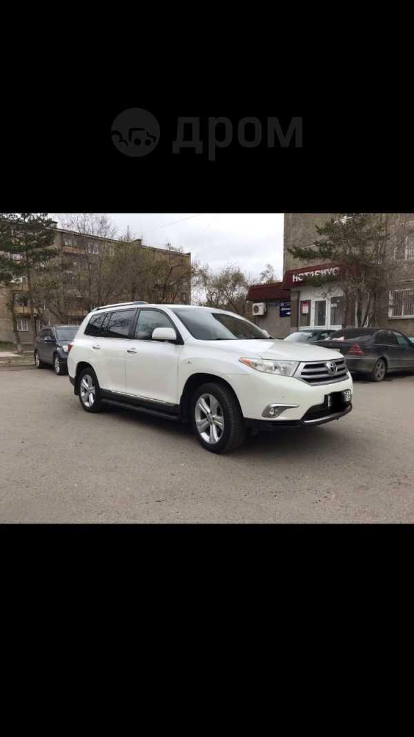 Toyota Highlander, 2012 год, 1 350 000 руб.