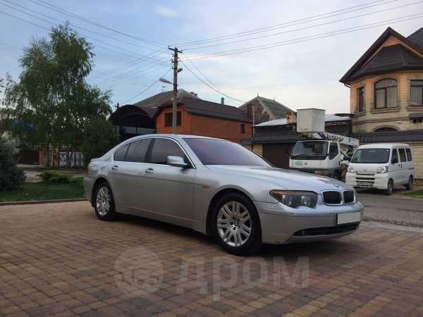 BMW 7-Series, 2002 год, 369 000 руб.