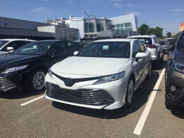 Toyota Camry, 2019 год, 2 189 756 руб.