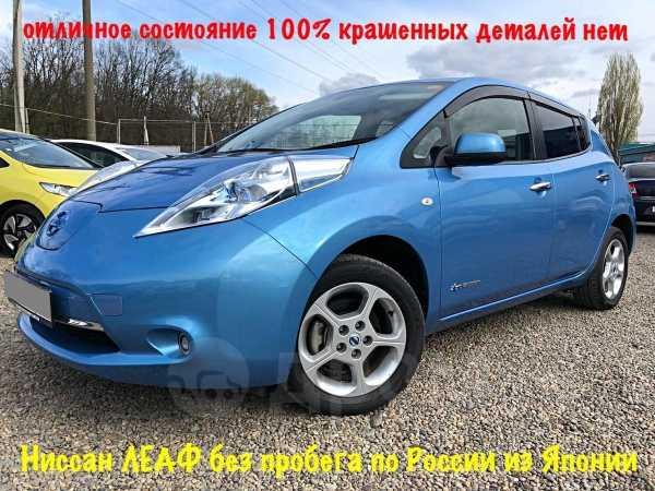 Nissan Leaf, 2011 год, 545 000 руб.