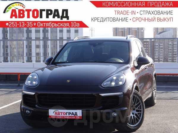 Porsche Cayenne, 2016 год, 3 957 000 руб.