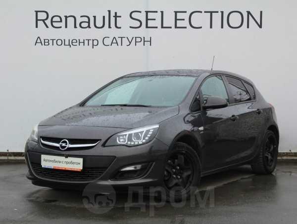 Opel Astra, 2014 год, 480 000 руб.