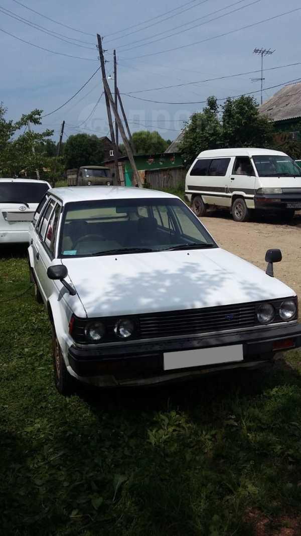 Nissan Bluebird, 1987 год, 70 000 руб.
