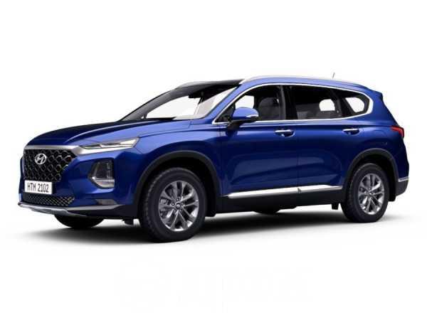 Hyundai Santa Fe, 2019 год, 2 444 000 руб.