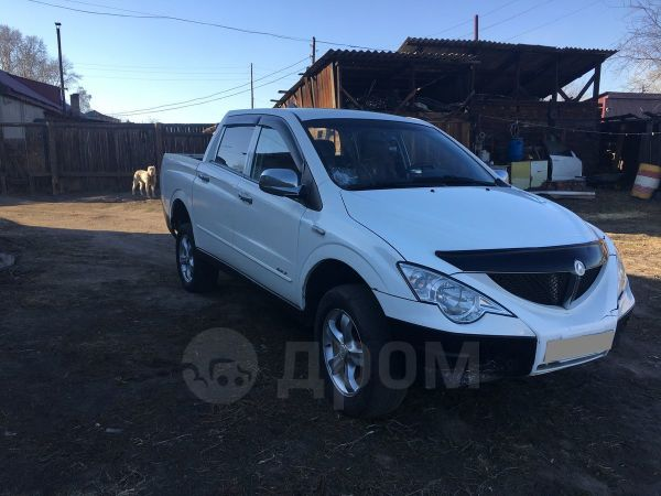SsangYong Actyon Sports, 2008 год, 370 000 руб.