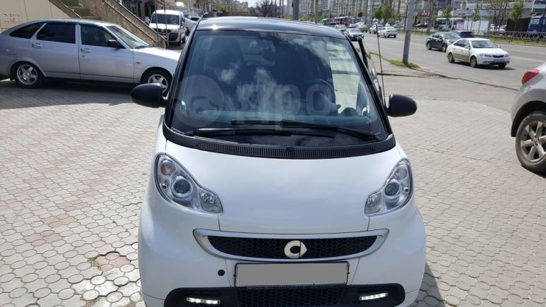 Smart Fortwo, 2015 год, 555 000 руб.