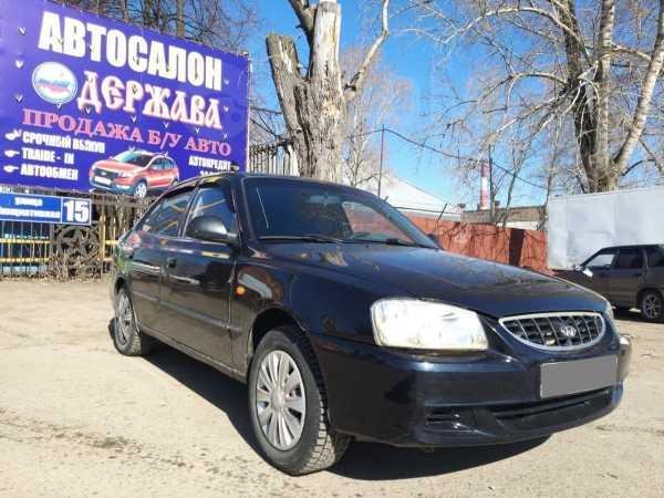 Hyundai Accent, 2008 год, 185 000 руб.