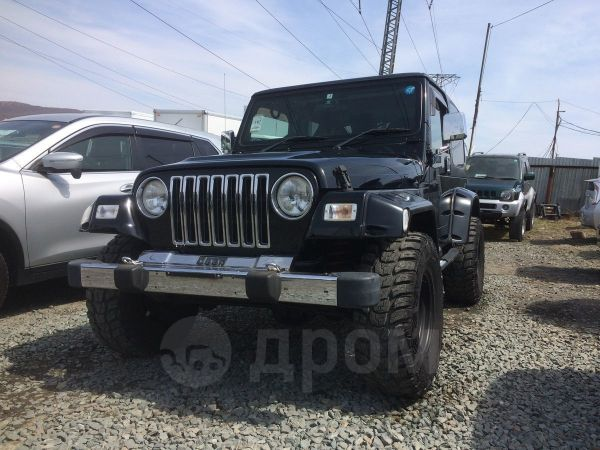 Jeep Wrangler, 2004 год, 575 000 руб.