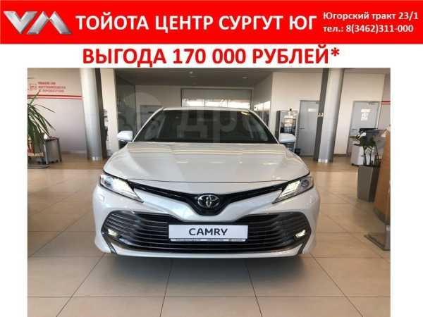 Toyota Camry, 2019 год, 2 186 000 руб.