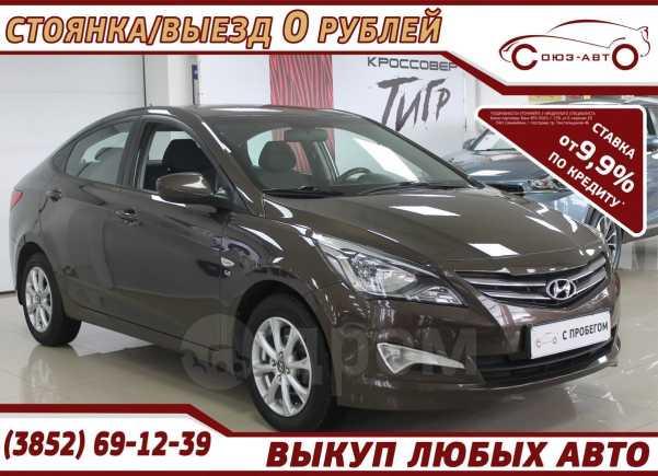 Hyundai Solaris, 2015 год, 628 000 руб.