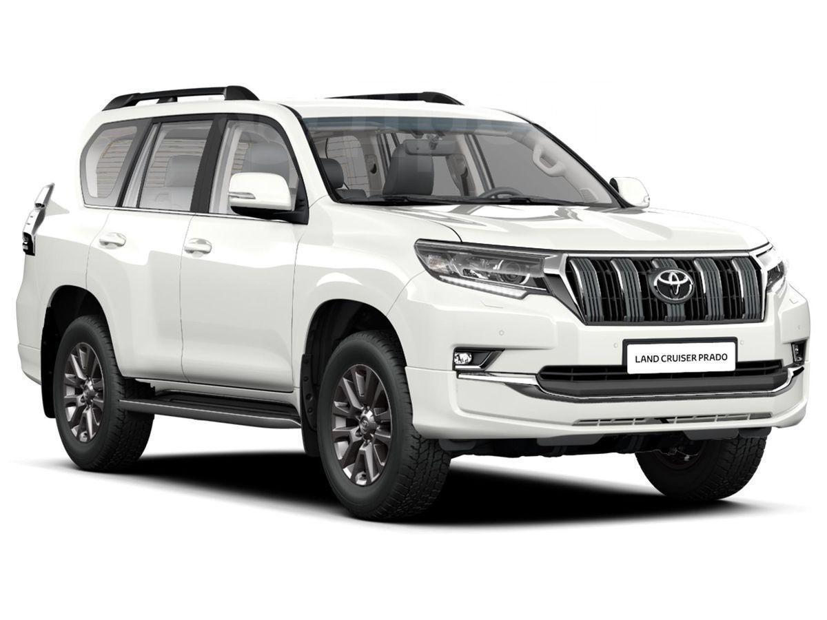 5733d7623a28 Продажа авто Toyota Land Cruiser Prado 2019 в Воронеже, белый ...
