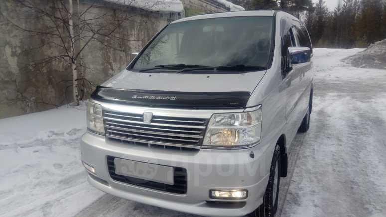 Nissan Elgrand, 2001 год, 395 000 руб.
