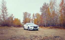 Кызыл Mazda Mazda6 2016