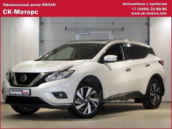 Nissan Murano, 2018 год, 2 750 000 руб.
