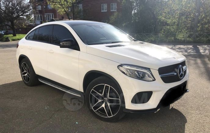 Mercedes-Benz GLE Coupe, 2017 год, 4 140 000 руб.