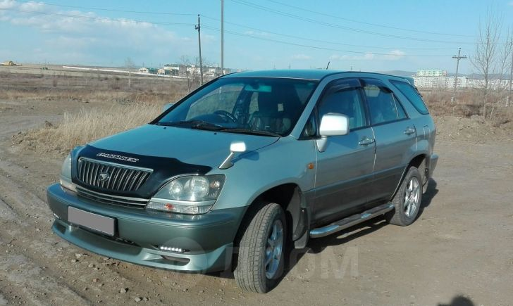 Toyota Harrier, 1998 год, 470 000 руб.