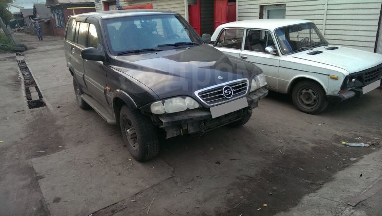 SsangYong Musso, 2002 год, 200 000 руб.