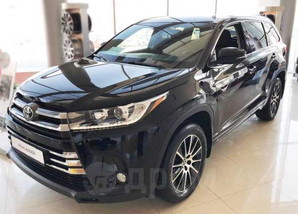 Toyota Highlander, 2019 год, 3 567 000 руб.