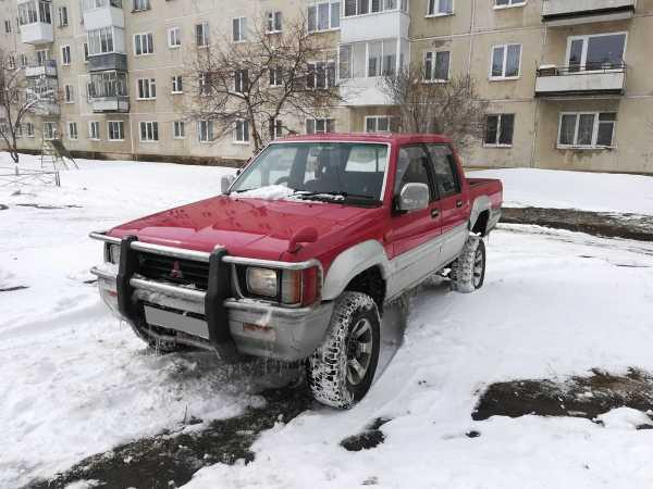 Mitsubishi Strada, 1993 год, 250 000 руб.
